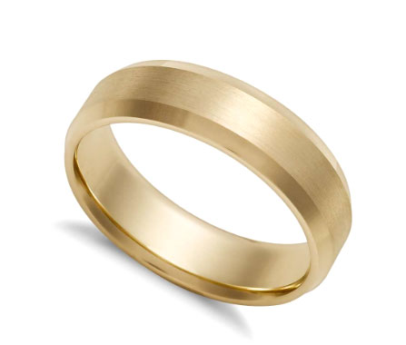 Brock Co Solid Gold Comfort Fit Wedding Band Your Choice Of Width