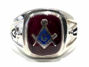 Sterling Silver Masonic Rings Archives - Brocks Jewelers